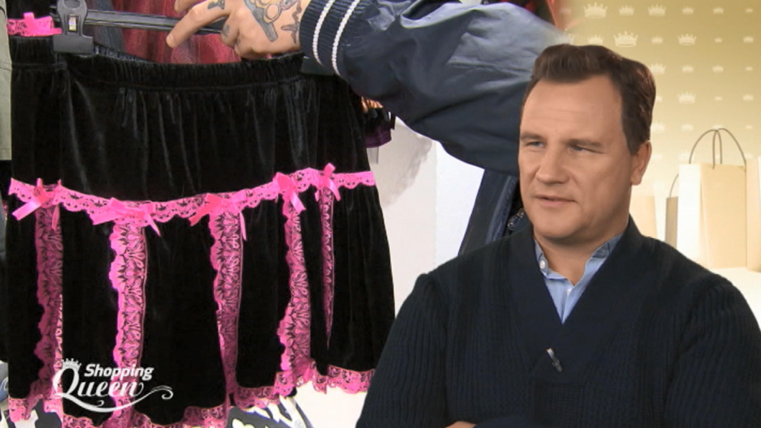 "Guido Maria Kretschmer bei ""Shopping Queen"" in Rostock."