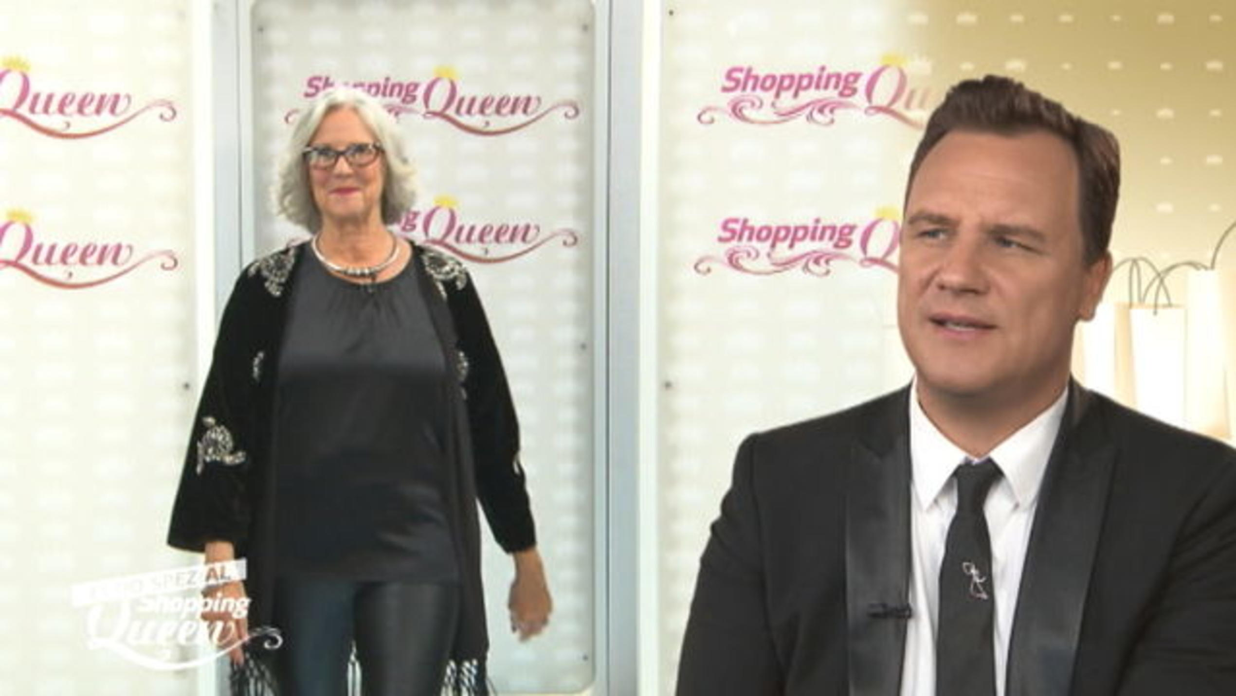 """Shopping Queen""-Kandidatin Marion auf dem Catwalk"