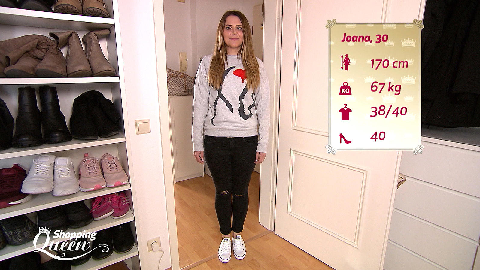 shopping queen joana aus hannover im style check. Black Bedroom Furniture Sets. Home Design Ideas