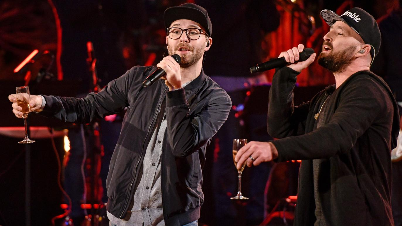 Sing Meinen Song 2017 Mark Forster Und Gentleman Mit Ich Trink Auf