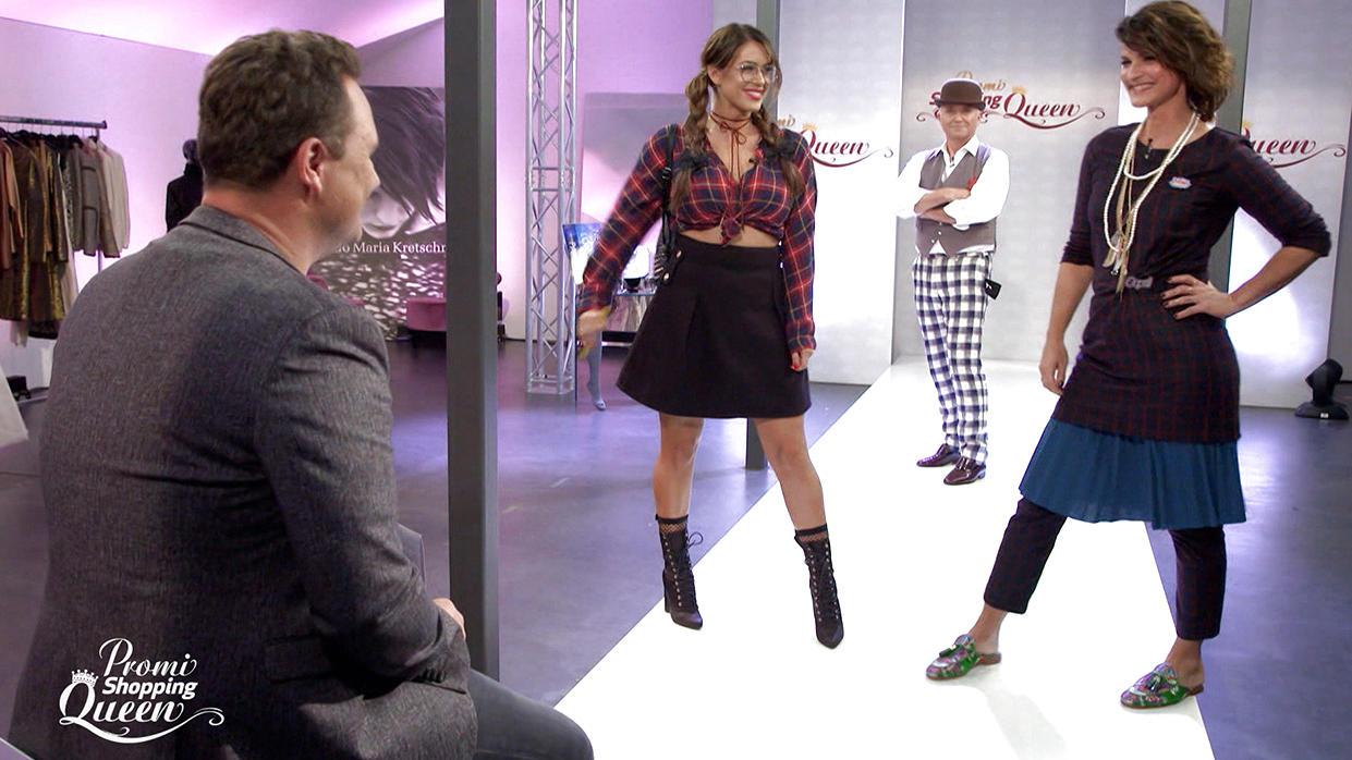 Promi Shopping Queen Guido ku00fcrt die erste prominente Mode-Ku00f6nigin des Jahres