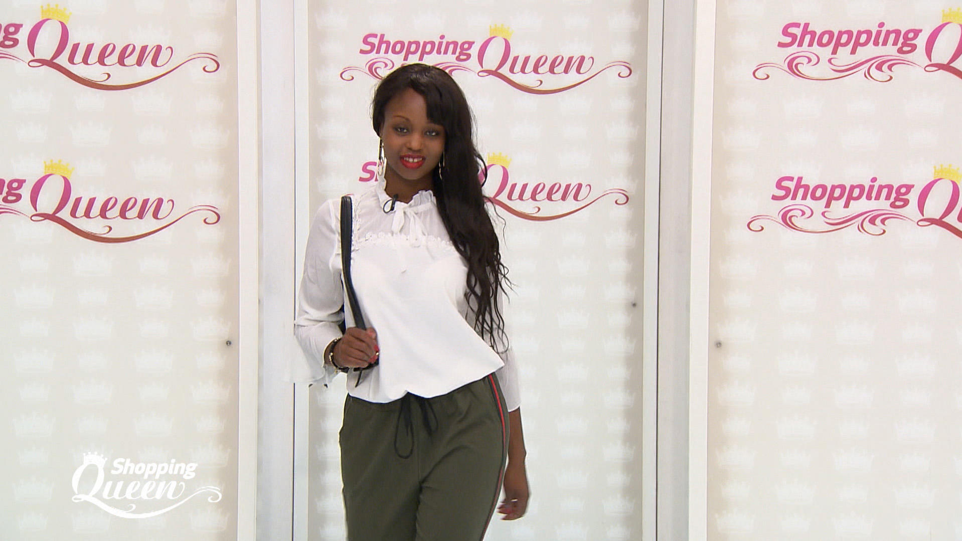 Shopping Queen: Justine auf dem Catwalk