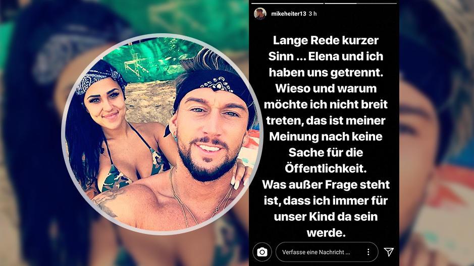 Love Island Paar Mike Heiter Und Elena Miras Trennung Kurz Vor Der