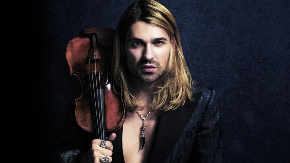 "David Garrett mit ""Rock Symphonies"""