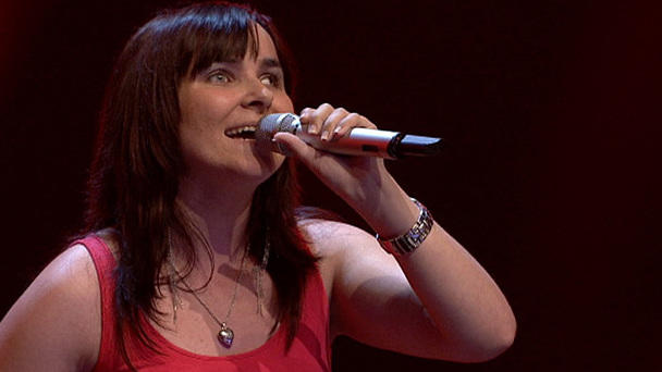 "Fabienne singt ""You've Got The Love"""