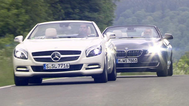 Mercedes 500 SL vs. BMW 650i