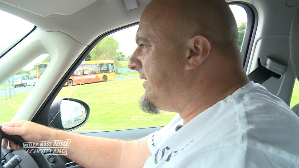 Detlef Steves Baut Im Linksverkehr Beinahe Einen Unfall