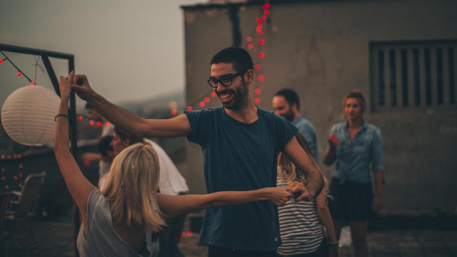 Mimik gestik flirten deuten