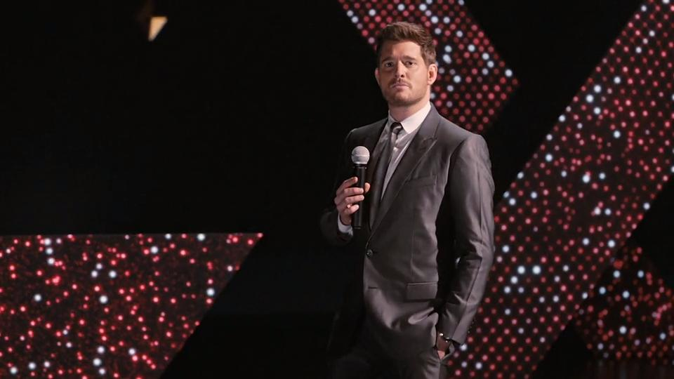 "Michael Bublé  mit ""Forever  Now"""