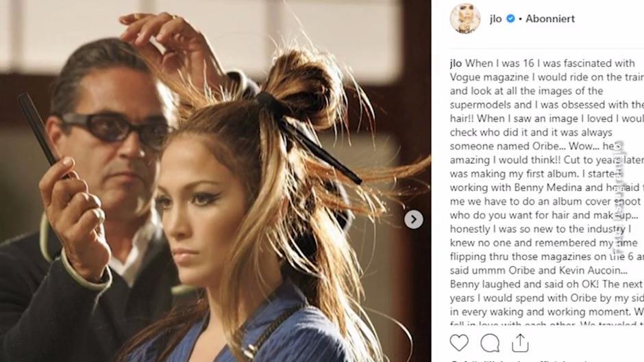 Jennifer Lopez Heidi Klum Co Verabschieden Sich Von Star Friseur