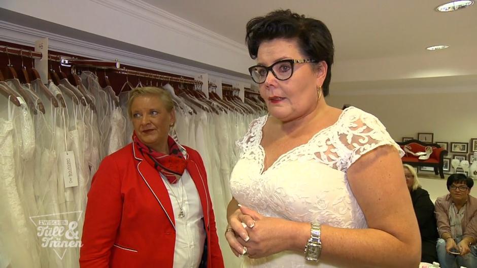 Zwischen Tull Und Tranen Bei Anja Kullern Direkt Beim Ersten Kleid