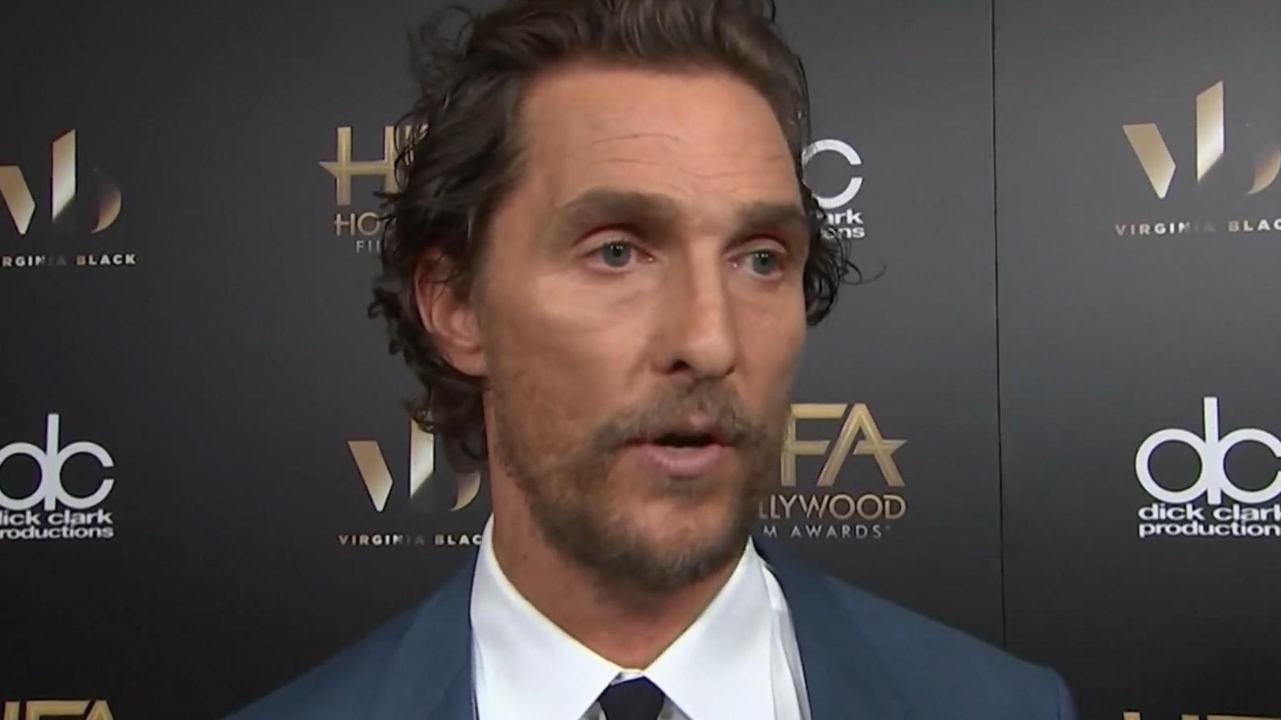 Matthew McConaughey wurde mit 15 zum Sex erpresst