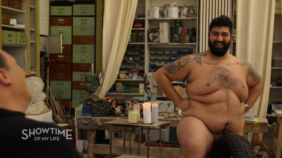 Stars männer nackte nesspertirent: Nackte